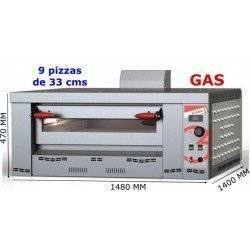 HORNO A GAS 9 PIZZAS FLAME