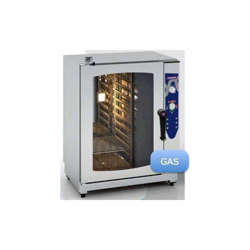 HORNO GAS 7 GN 1/1 ELECTRONICO INOXTREND COMPACT