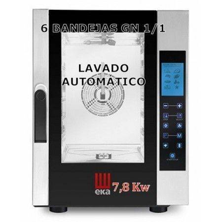 HORNO MIXTO DE 7 GN EKA DIGITAL