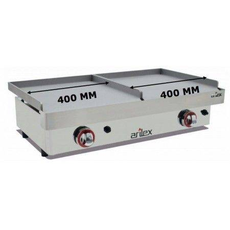 PLANCHA GAS DUO ARILEX 40+40