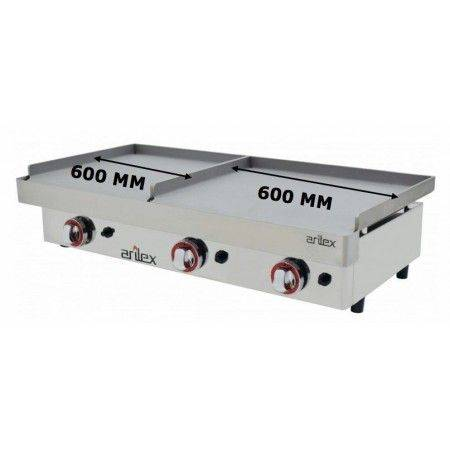 PLANCHA GAS DUO ARILEX 60+60