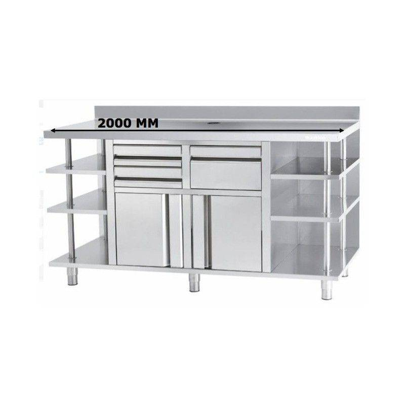 MUEBLE CAFETERO INFRICO MCAF2000