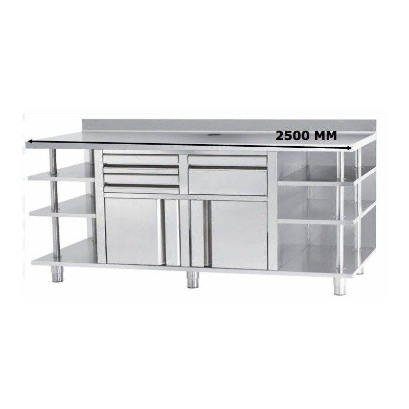 MUEBLE CAFETERO INFRICO MCAF2500