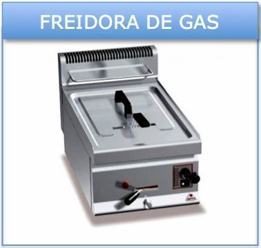 Freidora a gas