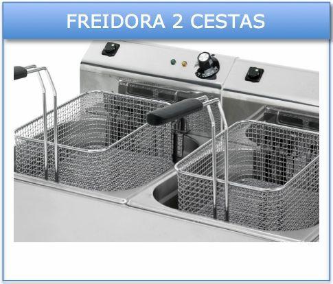 Freidora doble cesta